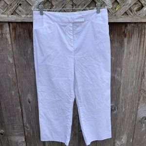 Charter club kathrine fit capris white one 8